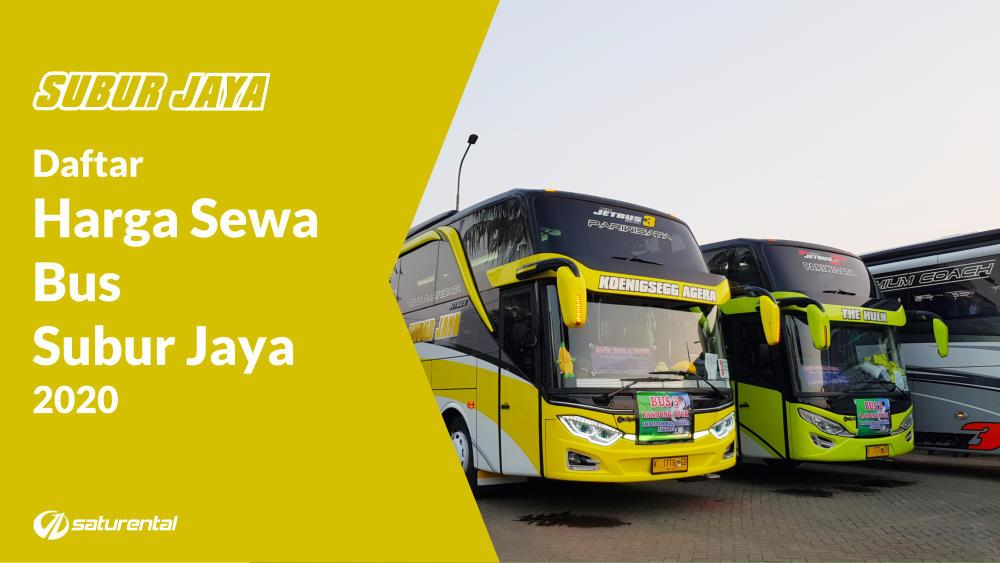 Daftar Harga Sewa Bus Pariwisata 2020