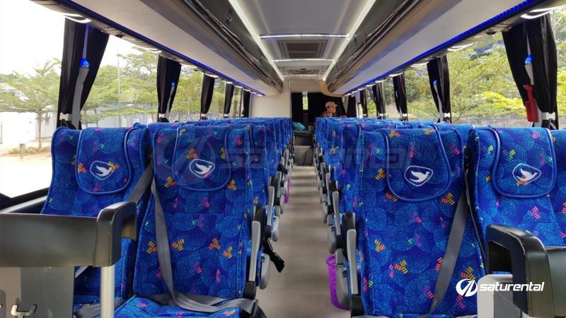 saturental - foto bus pariwisata big bird j2
