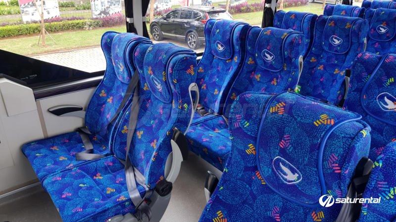 saturental - foto bus pariwisata big bird k2
