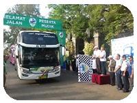 saturental - menyediakan layanan sewa bus untuk mudik a