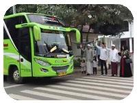 saturental - sewa bus pariwisata untuk ziarah wali atau majelis akbar a